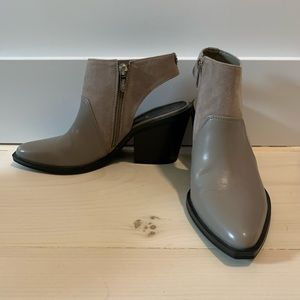 On trend mule boots!